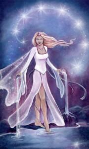 De ster, Crystal Vision tarot