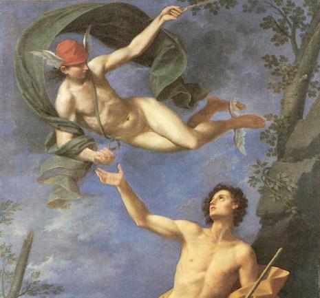 Mercury en Paris, Donato Creti, 1745