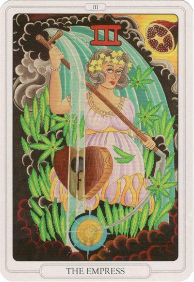 De Keizerin, Tarot of the Tattoo Age