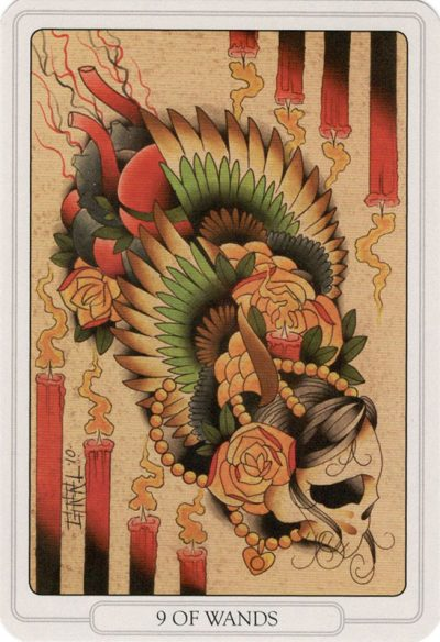 Staven 9, Tarot of the Tattoo Age