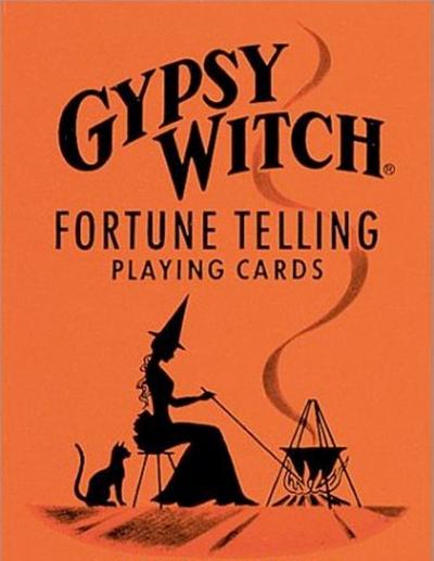 Gypsy Witch Fortune Telling speelkaarten