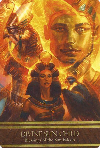 Divine Sun Child - Isis Orakel