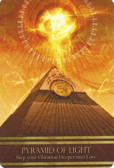 Pyramid of Light - Isis Orakel