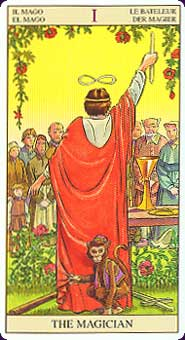 De Magiër uit de Tarot of the New Vision